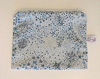 Pouch / clutch Liberty Adelajda blue in STOCK