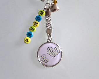 Keychain with name Valentine