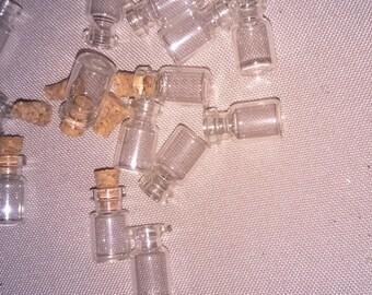 MINI-JARRE GLASS WITH CORK
