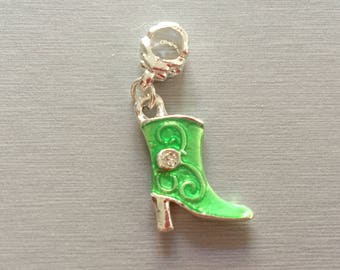 Green boot (cowboy boot)