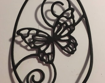 Butterflies for scrapbooking Easter egg die cuts