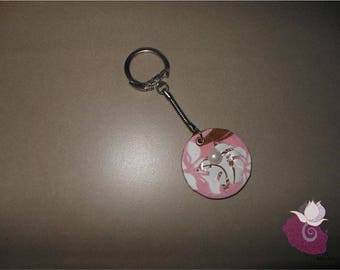 KEY CHAIN PINK 04 CAPSULE - ROSE 7 COLLECTION