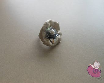 GRAY RING 01 - LEATHERETTE - COLLECTION GREY 7