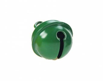 11 mm Green metal Bell