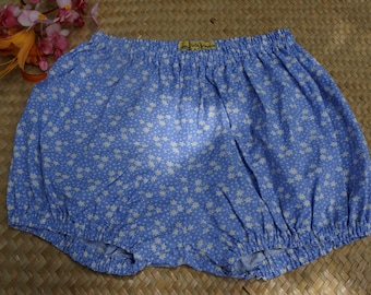 Blue Bloomer way Liberty daisy flowers for little girl of 3 years