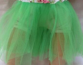 Doll clothes tulle tutu vet floral belt doll 36 cm