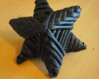Set of 2 Wicker star