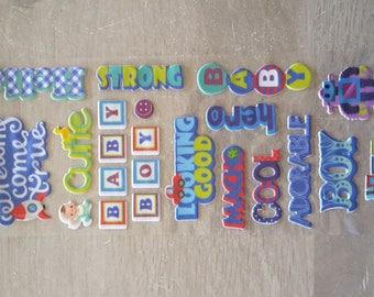 Stickers stickers 3D baby boy
