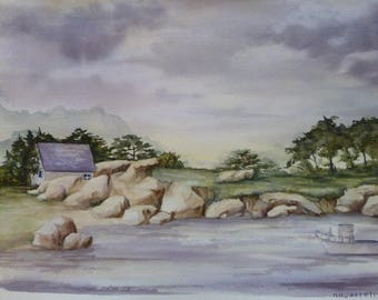 Fictional landscape