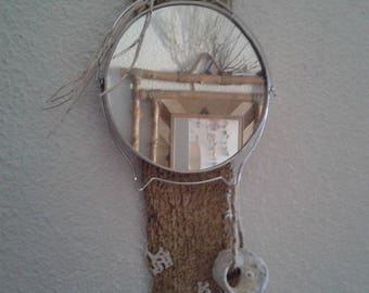 Vintage on Driftwood mirror