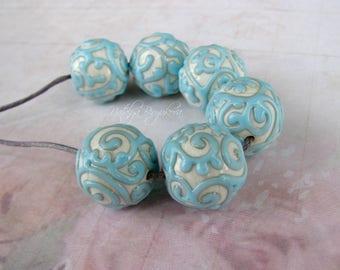 Handmade Lampwork Beads, Lampwork Glass Beads