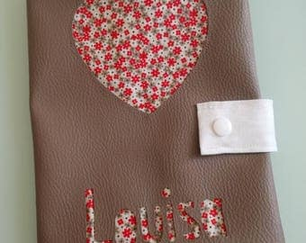 Health personalized leatherette Book * custom *.