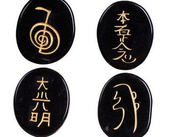 4 stones Reiki in Obsidian within 15 days