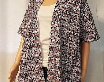 1 kimone lined jacket. HAND MADE