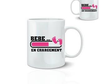 Birthstone girl mug - mug 325 ml ceramic