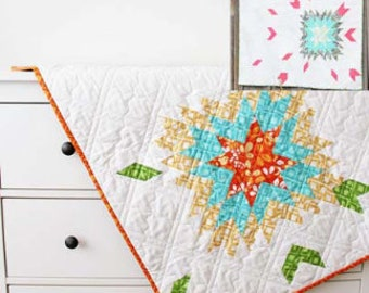Barn Dance quilt pattern from V and Co