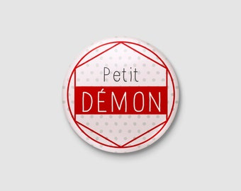 """Child's """"Little devil"""" badge"""
