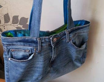 (recycled) denim bag