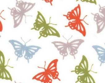 Patchwork butterflies Serenade fall fabric Moda