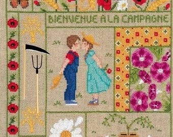 Ladies welcome August blessed Embroidery Kit