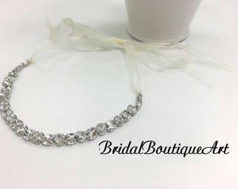 Crystal hairband,wedding hairband,bridal headband,bridal hair accessories