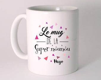 THE MUG from the great nanny personalized with child's name