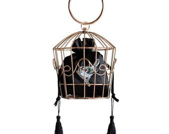 Bird Cage Bag Kate Spade Inspired Clutch