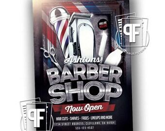 Barbershop Flyer - Barber Shop Flyer - Barbershop