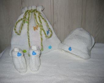 woolen baby newborn set