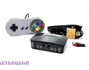 Retro Gaming N64-SK Mini PLUG N PLAY 14000+ Games Retropie Raspberry Pi 3 Bundle
