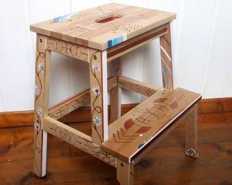 Step stool or bedside stamp
