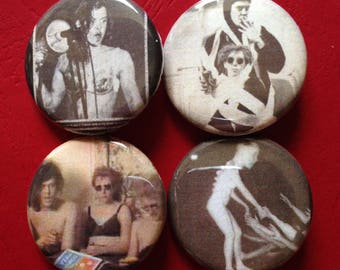 BUTTHOLE SURFERS set of 4 buttons 1.25""