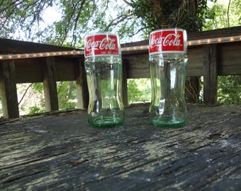 Coca-Cola Bottle Drinking Glass Set (2)