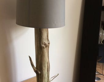 Lamp from drift wood
