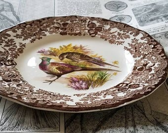 """Royal Worcester """" Palissy"""" Game Series Small Plate!"""