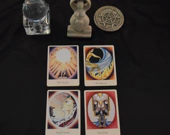 Four Card Tarot Reading
