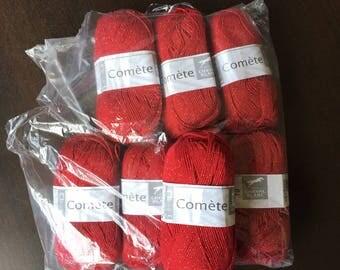 White horse Comet cotton/acrylic yarn