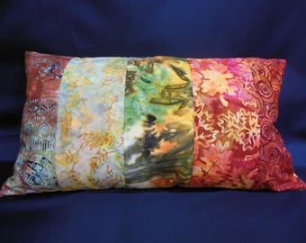 "Cushion collection ""Indian summer"", rectangle, 5 bands (C263)"