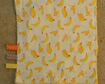 Blanket pacifier bananas collection