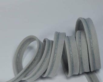 4 m of grey cotton piping clear 10mm