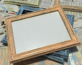 Distressed Rustic Photo Frame - 5x7in