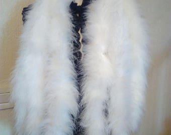 White Bird feather scarf