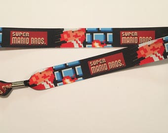 Super Mario Bros Lanyard