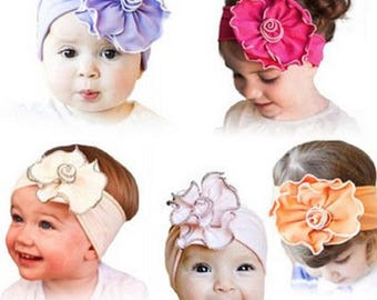 3 Pcs Baby Girl's Flower Headband