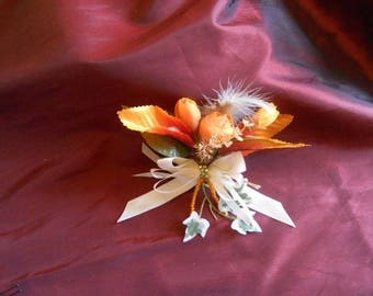 Hair bow clips country Theme