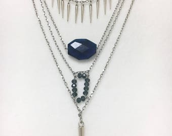 Spikes, layers and blue gems