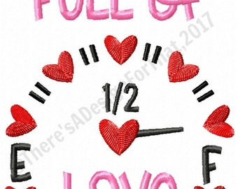 valentines embroidery design full of love valentines embroidery design embroidery design valentines day