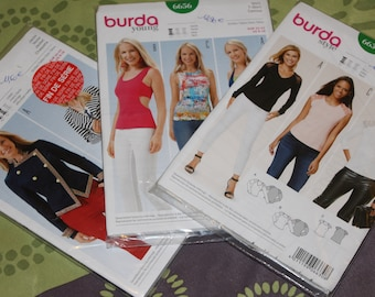 Burda woman pattern