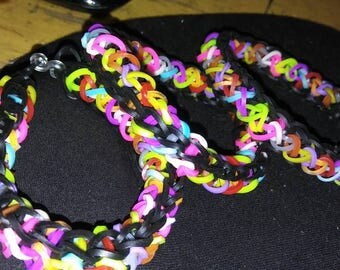 Twisty loom bracelet