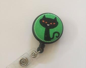 Halloween Themed Badge Reels, Retractable, Interchangeable